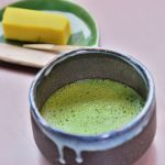 GREEN-TEA MACCHA-STYLE WITH DESSERT